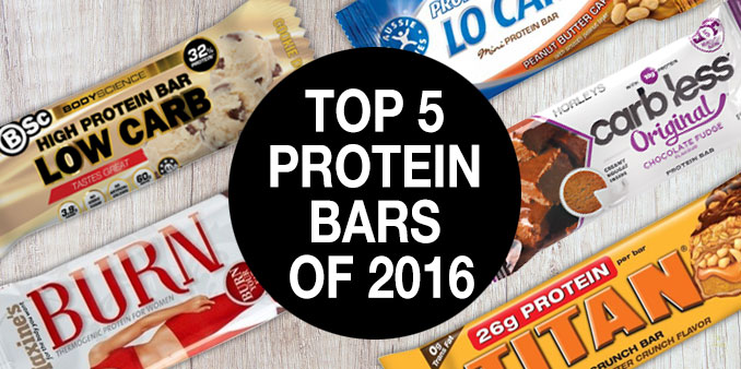 Merveilleux Top 5 Protein Bars Of 2016