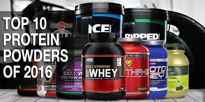 Top 10 Protein Powders of 2016 - Supplement Articles | Sportys Health