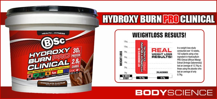 Body Science BSc Hydroxyburn Pro Clinical Review