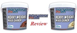 International Protein Heavy Weight Mass Gainer Review