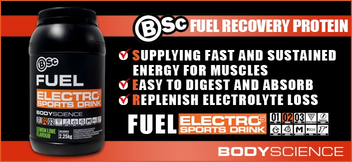 Body Science BSc Fuel Electro5 Sports Drink Review