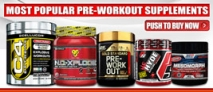 Most Popular Pre-Workout Supplements