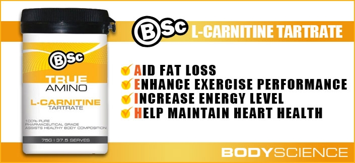 Body Science BSc True Amino L-Carnitine Review