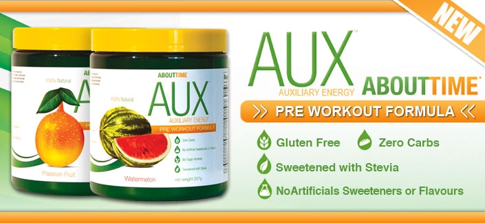 ABOUT TIME AUX Auxiliary Energy Review