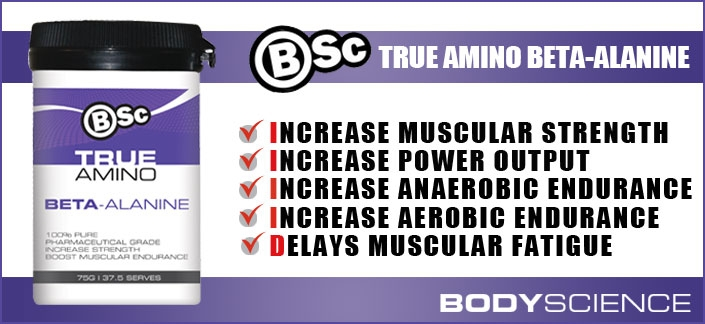 Body Science BSc Beta Alanine True Amino Review