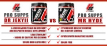 The Difference Between Pro Supps Dr. Jekyll & Mr. Hyde Pre-Workouts