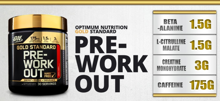 Optimum nutrition pre workout powder