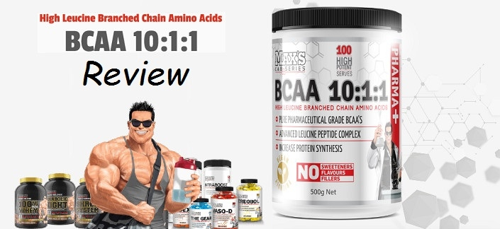 Max's BCAA 10:1:1 Review