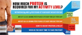 How Much Protein Is Required For My Activity Level?