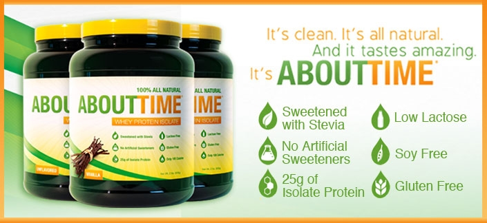 ABOUT TIME Whey Protein Isolate Review