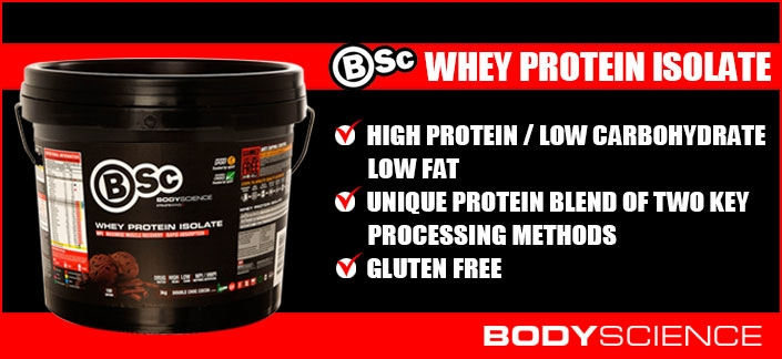 Body Science BSc Whey Protein Isolate - New & Improved