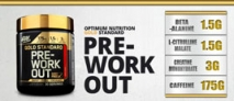Optimum Nutrition Gold Standard Pre-Workout Product Review