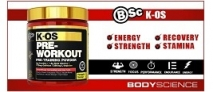 BSc K-OS Pre-Workout Review