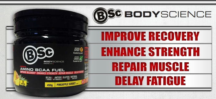 Body Science BSc Essential Amino BCAA Fuel Review