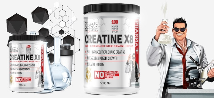 Max's Creatine X8 Review