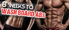 8 Weeks to Wash Board Abs