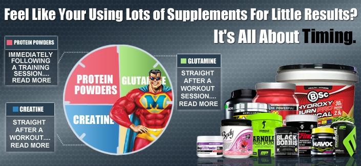 Feel Like Your Using Lots of Supplements For Little Results? It's All About Timing
