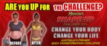 Maxine's Shape Up Challenge 2014