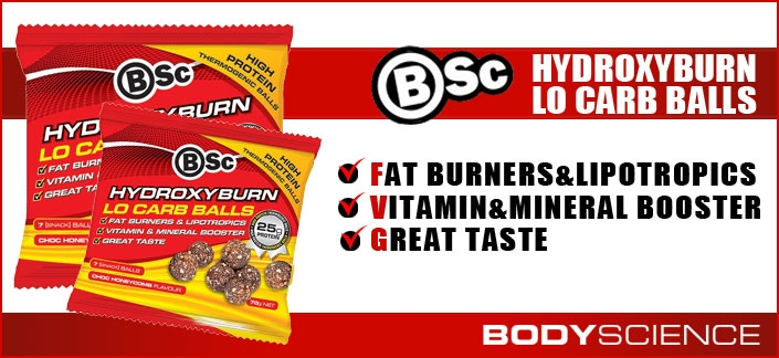 Body Science BSc Hydroxyburn Lo Carb Balls Review