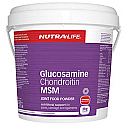 Nutra-Life MSM Glucosamine  Chondroitin Joint Food Powder 2Kg Value Pack