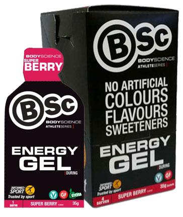 Body Science BSc Fuel Energy Gels