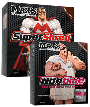 Maxs SuperShred + Nitetime Top Up Stack