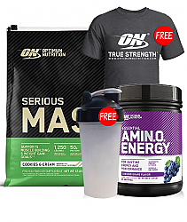 Optimum Nutrition Serious Mass Stack
