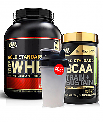 Optimum Nutrition Gold Standard Whey BCAA Stack