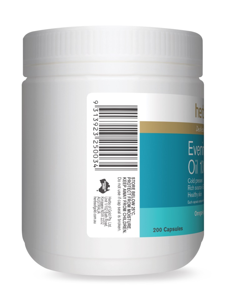 Herbs Of Gold Evening Primrose Oil 1000 Discounted