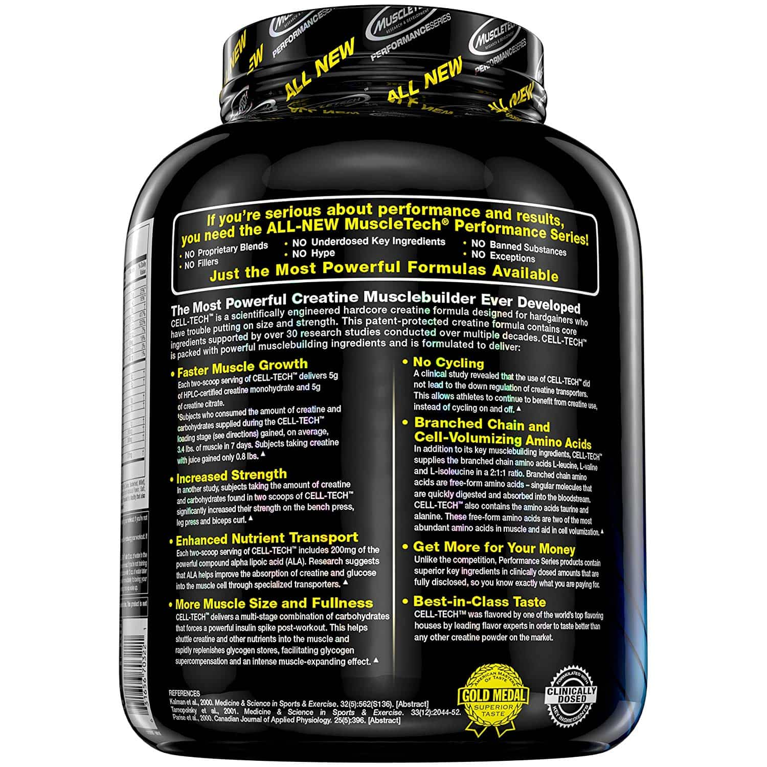Cell Tech By Muscletech Sporty S Health