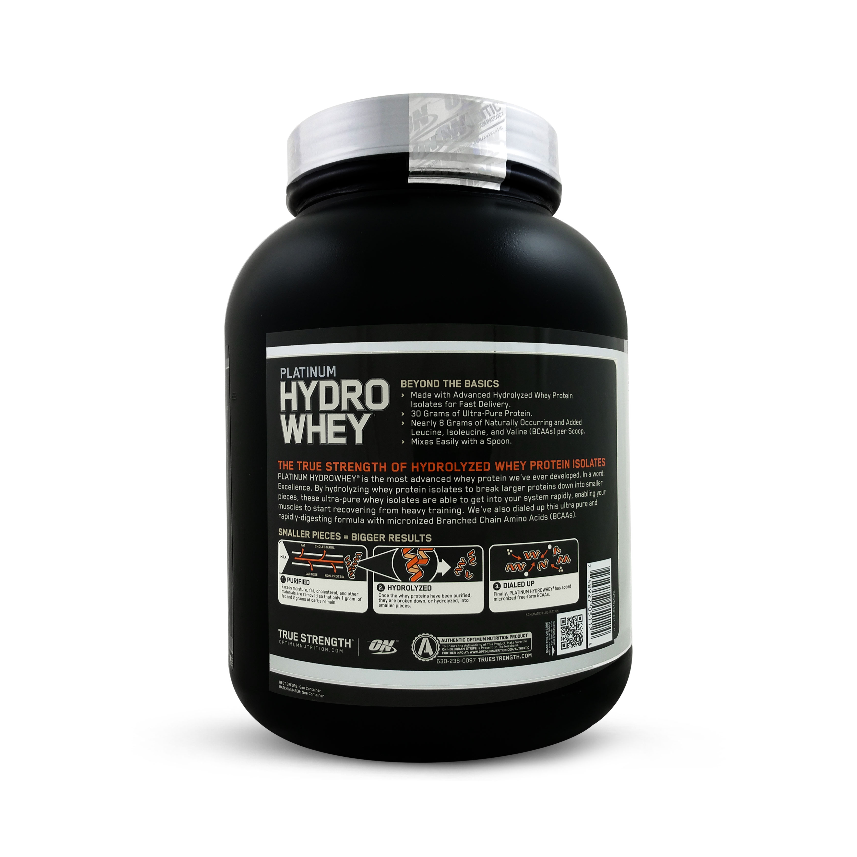 Optimum nutrition hydrowhey platinum