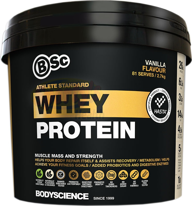 Body Science BSc Athlete Standard Whey
