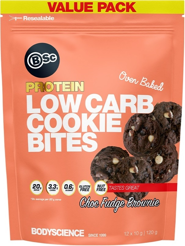 BSc Low Carb Cookie Bites