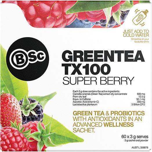 Body Science BSc GreenTea TX100