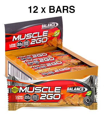 Balance Muscle 2Go Protein Bar - NEW & IMPROVED