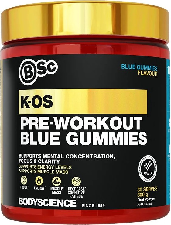Body Science BSc K-OS Pre-Workout