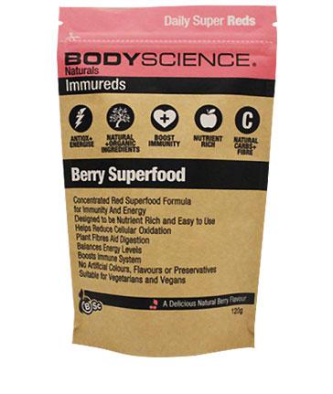 Body Science BSc Naturals Immureds Vegan Antioxidant