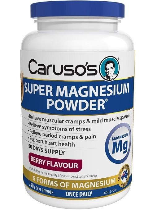 Caruso Health Super Magnesium Powder
