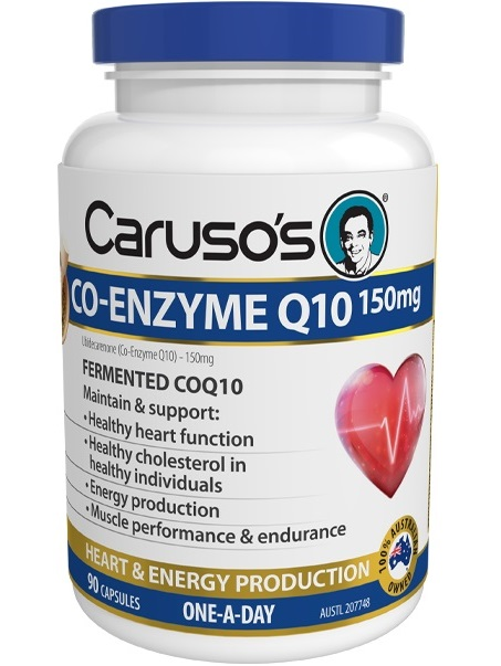 Carusos Co-Enzyme Q10 150mg