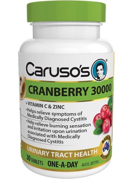 Carusos Cranberry 30,000