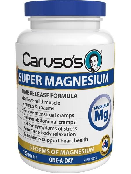 Carusos Natural Health Super Magnesium Complex