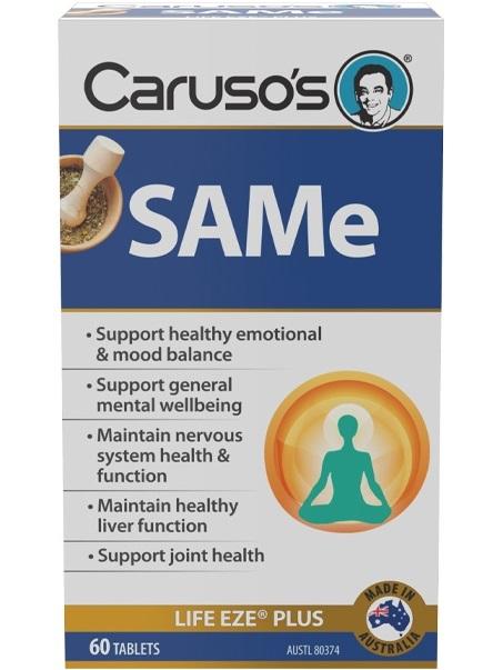 Carusos Natural Health SAMe