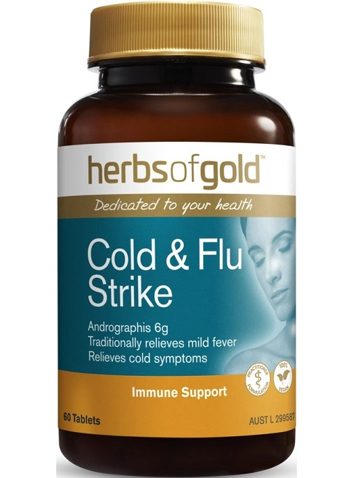 Herbs of Gold Cold and Flu Strike