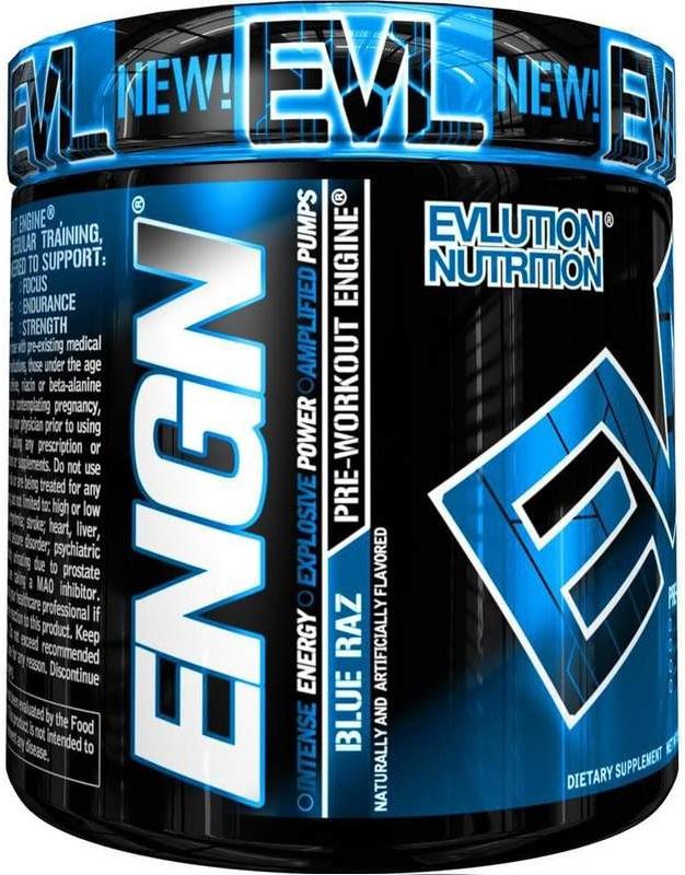 EVL ENGN Pre-Workout EVLution Nutrition
