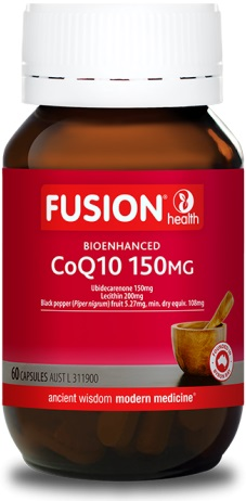 Fusion Health Bioenhanced CoQ10 150mg