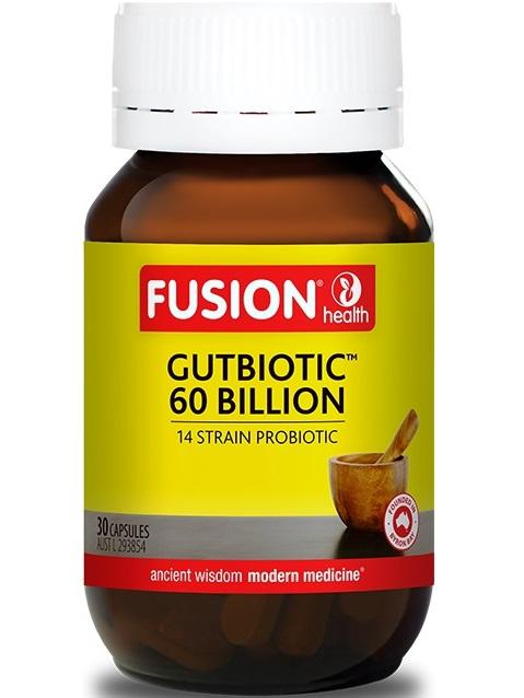 Fusion Health Gut Biotic 60 Billion