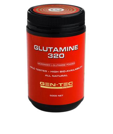 Gen-Tec Nutrition Glutamine 320