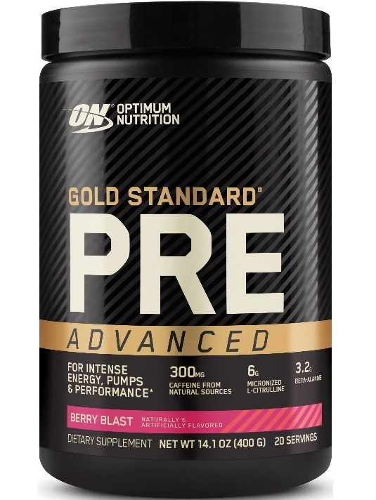 Optimum Nutrition Gold Standard PRE Advanced