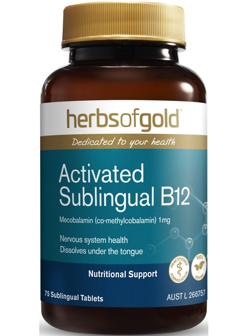Herbs of Gold Activated Sublingual Vitamin B12