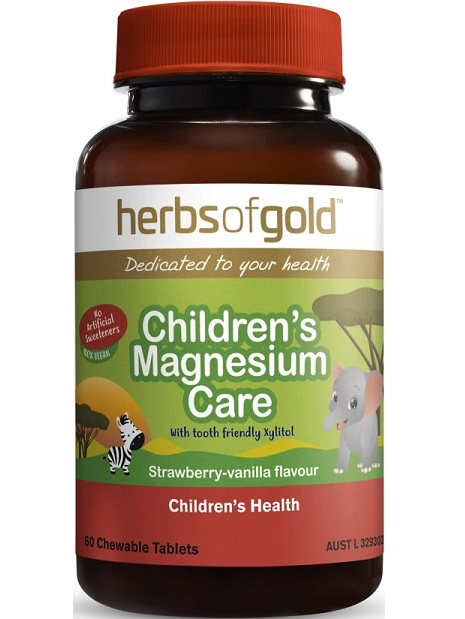 Herbs of Gold Childrens Magnesium Care
